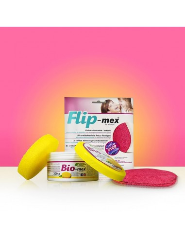 Bio-mex 300gr + Flip-mex Panno Spugna